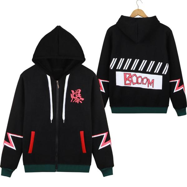 Japão anime minha hero academia camisolas plus size uniforme das mulheres dos homens hoodies traje cosplay clothing college top novo