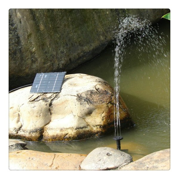 Fountain Pump Garden Supplies Solar Powered Energy Saving Submersible Solar Water Pumps For Garden Pond Pools Small Pond