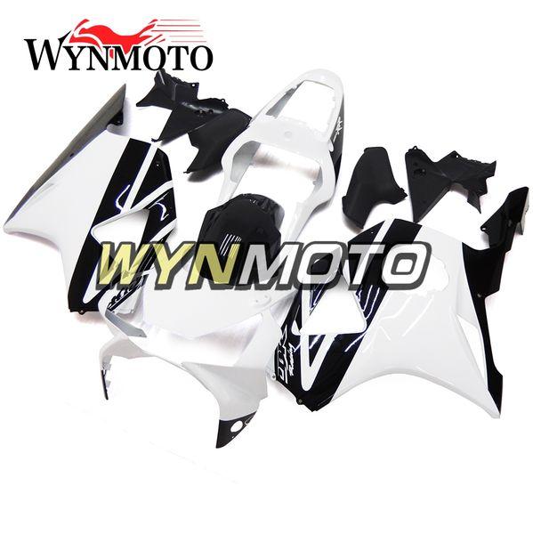 Kit de carenado completo de plástico ABS para inyección de inyección para Honda CBR900RR 954 2002 2003 CBR900 RR 954 02-03 Carrocería Blanco Negro Carenados