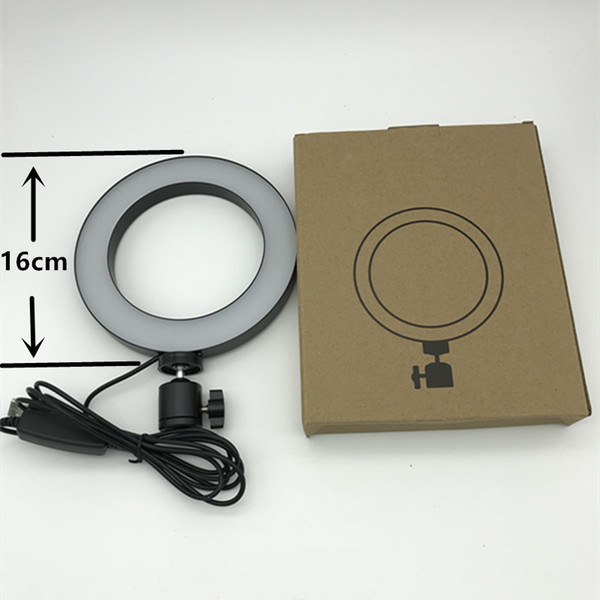 1pcs Dimmable Led Studio Camera Ring Light Photo Phone Video Light Annular Lamp With Tripods Selfie Stick Ring Fill Light