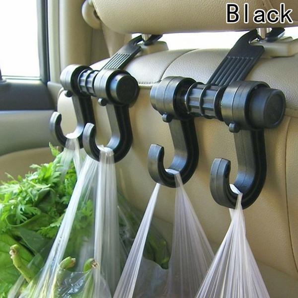 Portable Car Seat Back Storage Hook Sundries Hanger Bag Holder Universal Multifunction car hook Fastener & Clip Hot Selling