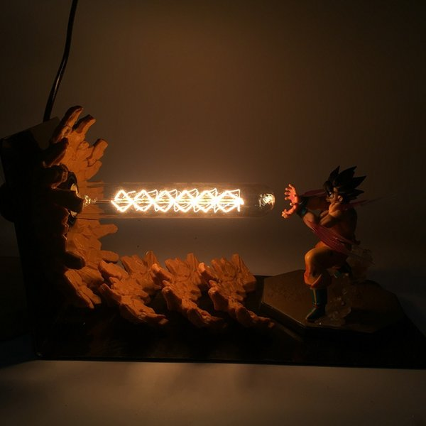 Dragon Ball LED Lamp for Children Z Action Anime Figure Goku Son Figurine Collectible Model Kids Toys gift glow in the dark