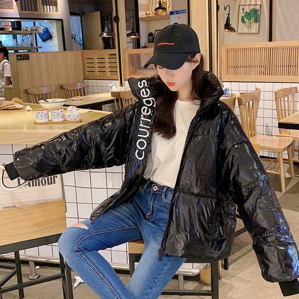 schwarz bubble coat