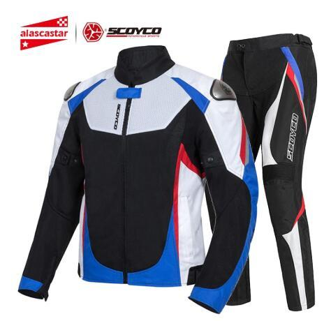 Motorcycle Jacket Men Summer Chaqueta Moto Jacket Protective Gear Reflective Motocross Jacket Motorcycle Protection Armor
