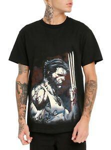 Wolverine Blood And Steel X-Men XS Men t-shirt, LICENCIADO Marvel NOVO! TÓPICO QUENTE