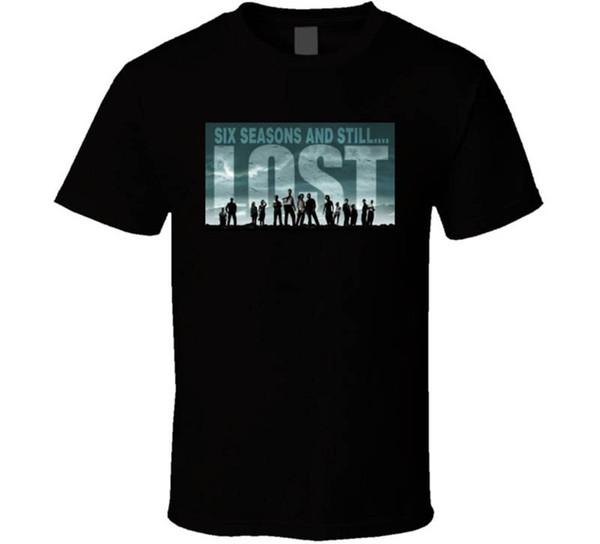 100% Cotton T Shirts Brand Clothing Tops Tees Short Lost Still Funny Mens T Shirt