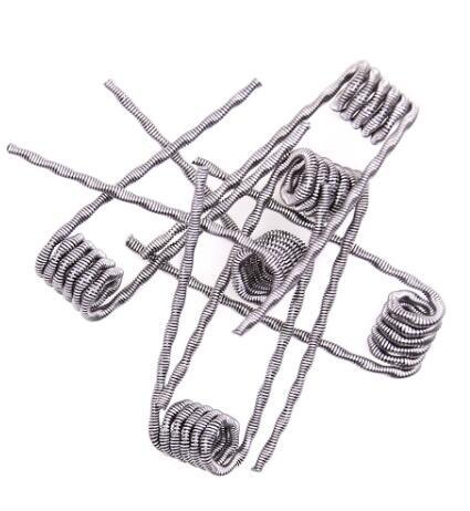 DHL Free Shipping 48pcs Coils Per Box Mixe Resistances 8 in 1 Heating Wire for Electronic Cigarette Vape Mod
