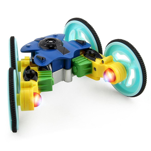 Remote Control Car Toy 2.4GHz Electric Rotating Stunt Car 360 Degrees Rotating USB Charging Remote Control for Baby Kids 1