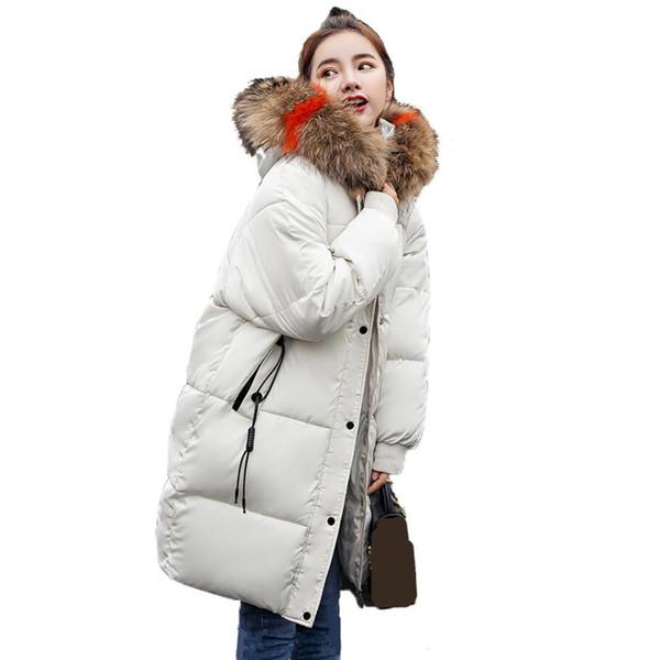 2019 NEW New Arrival Winter Jacket Warm Thicken Outwear For Women Winter Jackets Ladies Long Hooded Female Parka Winter Coat Women Coat