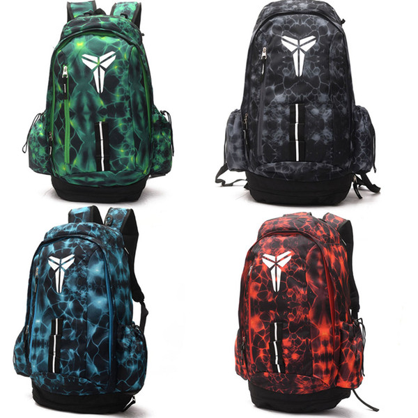 best selling Brand New KOBE Basketball Backpacks Sport Backpack Man Backpack Large Capacity Training Women Travel Bags School Bag Shoes Bag
