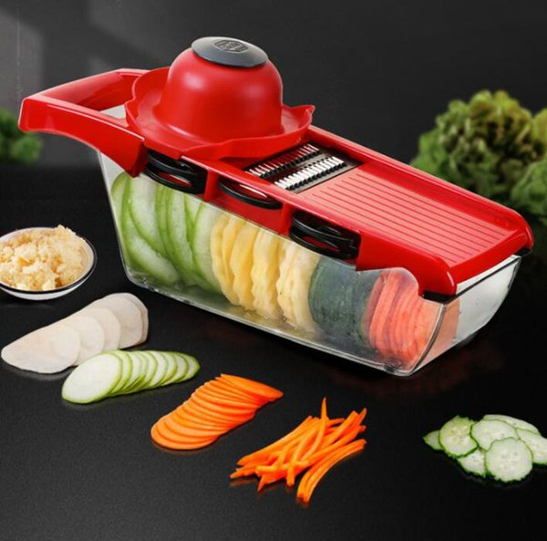 Vegetable Food Slicer Kitchen Chopper Cutter Friut Tomato Peeler Carrot Grater Dicer Tool Kitchenware Vegetable Slicer Cutter KKA6383