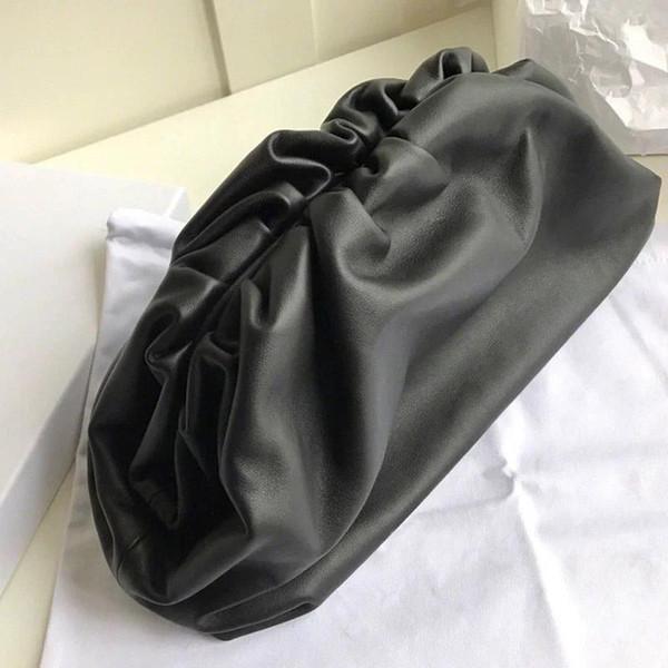 Cow Leather Cloud Bag Soft Wrinkled Dumplings Shoulder Messenger Luxury Handbags Women Designer Clutches Shoulder Oblique Bagef66#