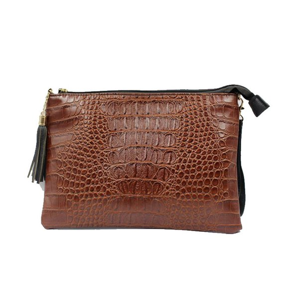 Women Clutch Bag Crocodile Bag European and American Style Fashion Lady Day Clutches Shoulder Crossbody Messenger Bags 2019 New