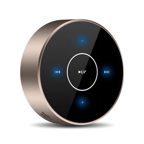 Sans fil Bluetooth Haut-Parleur A6 Portable Écran Tactile Stéréo Haut-Parleur Subwoofer AUX Audio TF Carte MP3 Lecteur de Musique avec Micro pour Smartphone PC