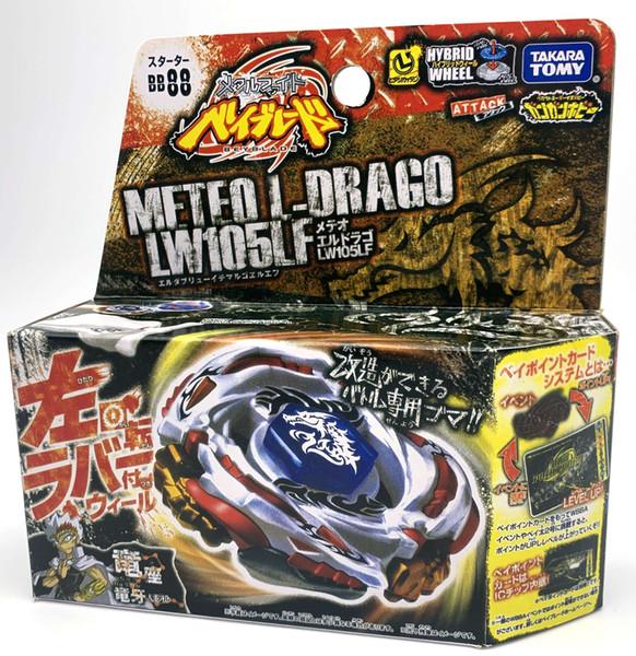 top popular TAKARA TOMY BEYBLADE METAL FUSION BB-88 Meteo L Drago LW105LF+LAUNCHER L Y200703 2020