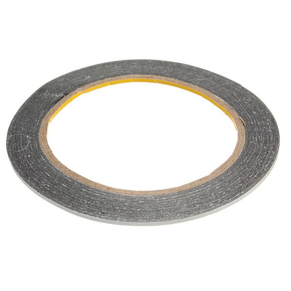 2MM Brand New 10M Sticker Double Side Adhesive Tape Fix For Cellphone Touch Screen LCD Mobile Phone Repair Tapes