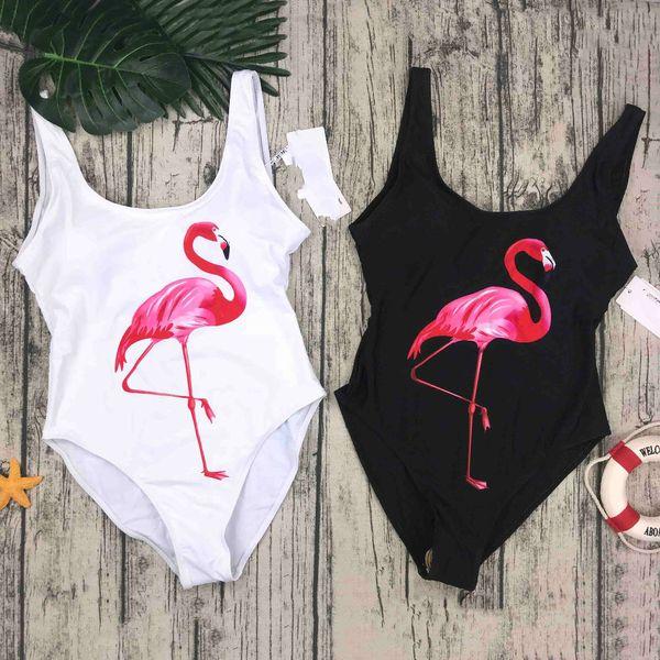 Swimwear 2019 Women One Piece Swimsuit Birds Printed Summer Bathing Suit Women S Bikini Swimwear Designer Bikini