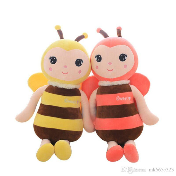 Stuffed Bees Plush Toys Stuffed Animal Bee Toy Baby Girls Birthday Gifts Pillow Doll Perfect Gift for Birthday Holiday and Christmas