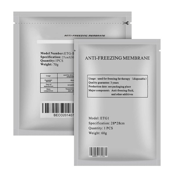 top popular the most effective antifreeze membrane for cryolipolysis slimming machine Antifreeze membrane cryo pad with DHL shipping free 2020