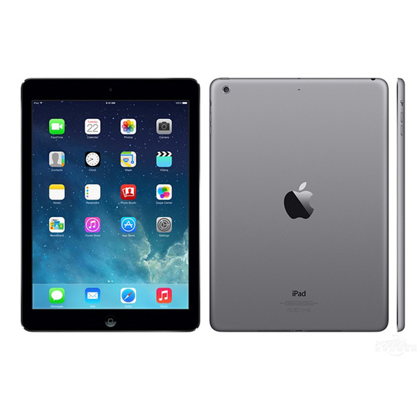 "top popular Refurbished Apple iPad Air 16GB 32GB 64GB 128GB Wifi iPad 5 Tablet PC 9.7"" Retina Display IOS A7 refurbished Tablet DHL 2020"