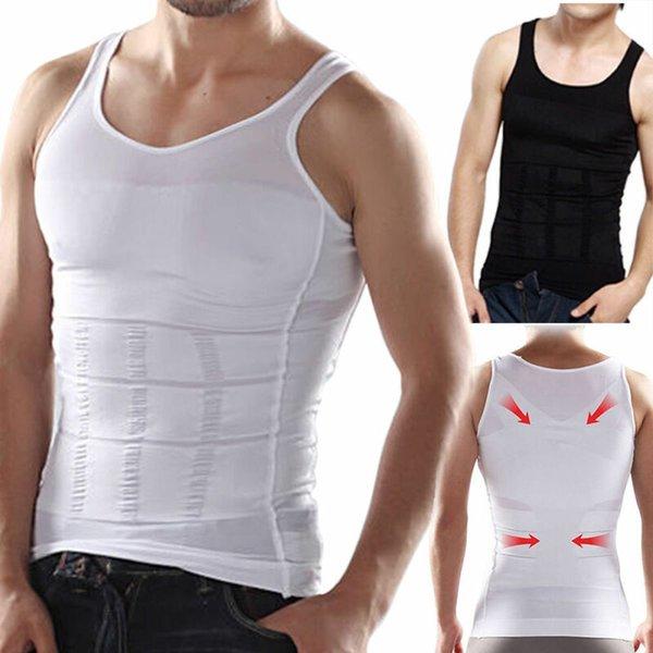Hommes Minceur Sous-vêtements Body Shaper Taille Cincher Corset Hommes Shaper Gilet Corps Minceur Ventre Ventre Slim Shapewear
