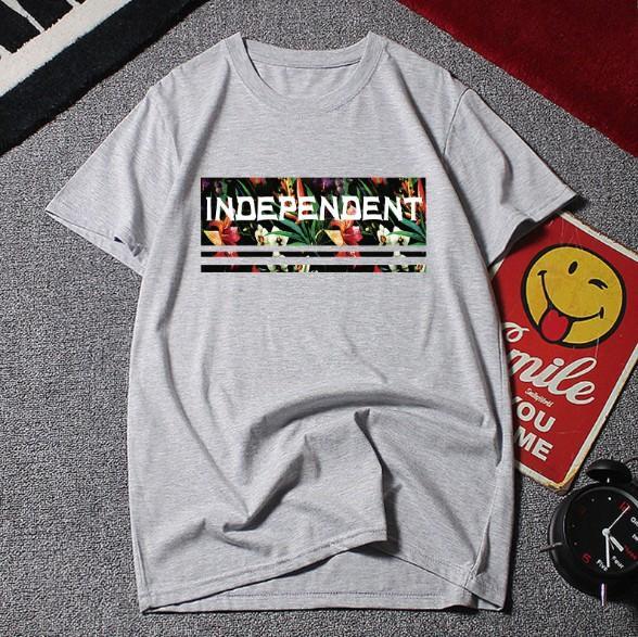 Camiseta de verano para hombre Estilo casual Manga corta Cuello redondo Impresión de letras Estilo suelto Tamaño grande Tamaño asiático M-6XL