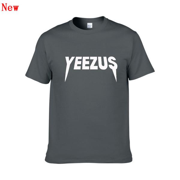 Short Sleeve T Shirt for Men and Women YEEZUS 3D Printing Tshirts Male Slim Fit Plus Size XS-XXL Hip Hop Cotton t-shirts ZG4