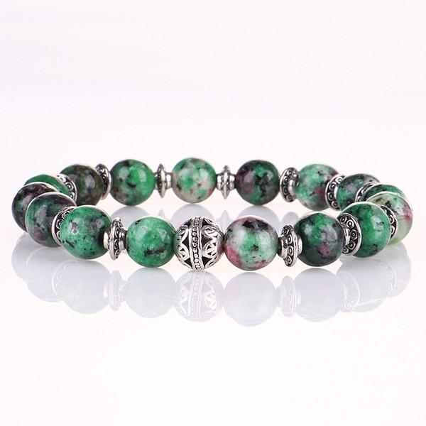 Free Shipping Chakra Bracelet 8mm Beads Energy for Gift Men Women Bracelet Handmade Jewelry Bangles Yoga Balance Prayer Elastic Bracelet
