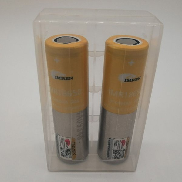 100% Top Quality IMR 18650 Battery 3500mAh 3.7V 30A 18650 Batteries Rechargable Lithium Batteries Fedex UPS Free Shipping