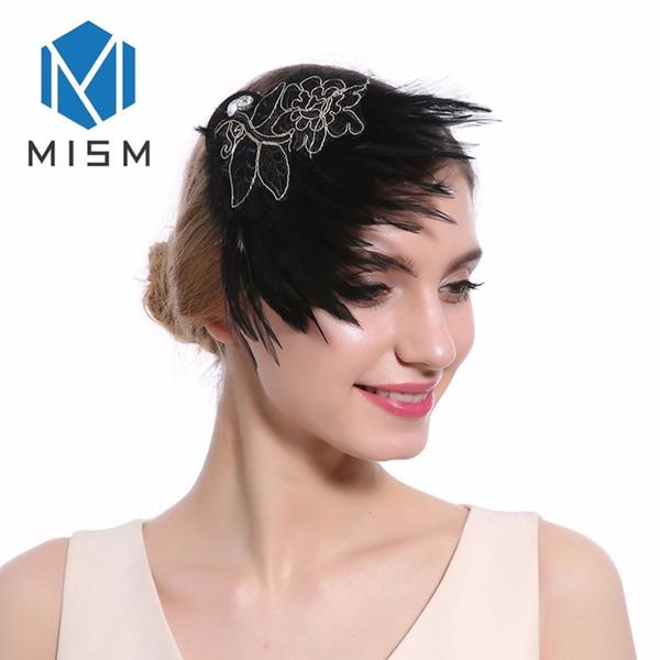 Ladies Fascinator Feather Bride Wedding Party Hair Clips Hair Band Charming Hair Accessories For Womens Headwear Hairpins