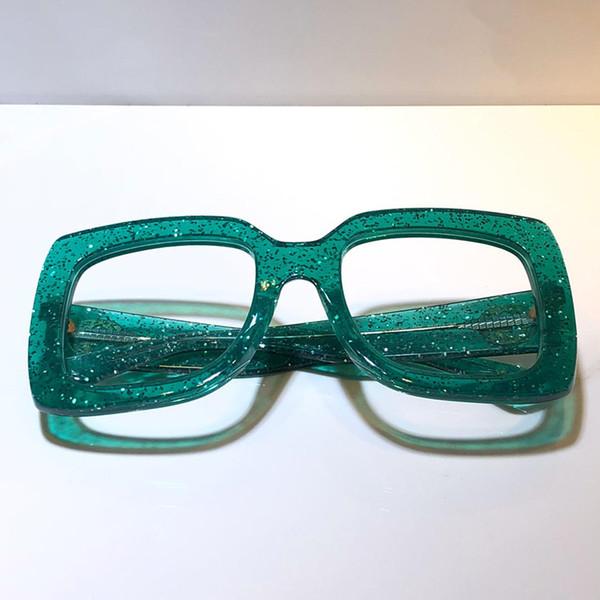 green clear lens