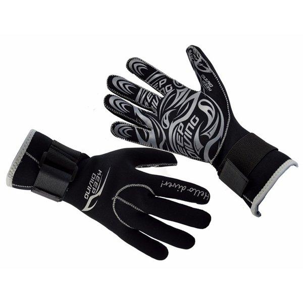 3MM неопреновые перчатки для подводного плавания снаряжение для подводного плавания против царапин держать теплый материал гидрокостюм зимнее плавание подводная охота ДЕРЖАТЬ ДАЙВИНГ