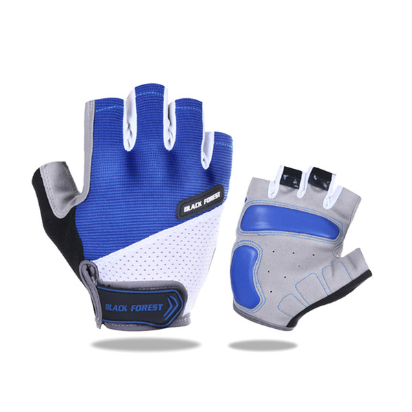 Bicycle cycling Gloves outdoor sports fitness Half Finger Gloves Shockproof Breathable Gloves For Cycling GYM cycling fitness accessories