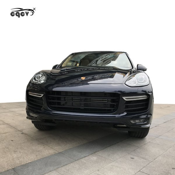 2019 2015 2017 For Porsche Cayenne 958 Turbo Front Bumper And Gts Style Body Kit Side Skirts Rear Spoiler Pp Material From Carcarer001 16583