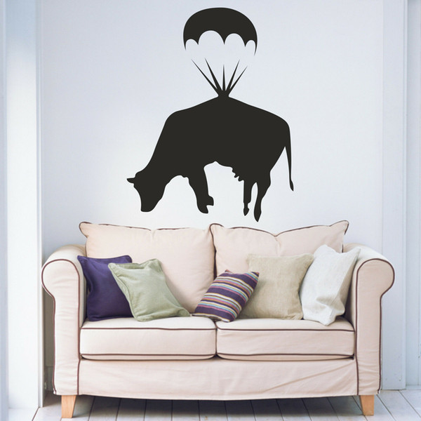 Living Room Bedroom Hallway Vinyl Wall Art Sticker Decal Art Painting Wall Stickers Vinyl Decor Decals