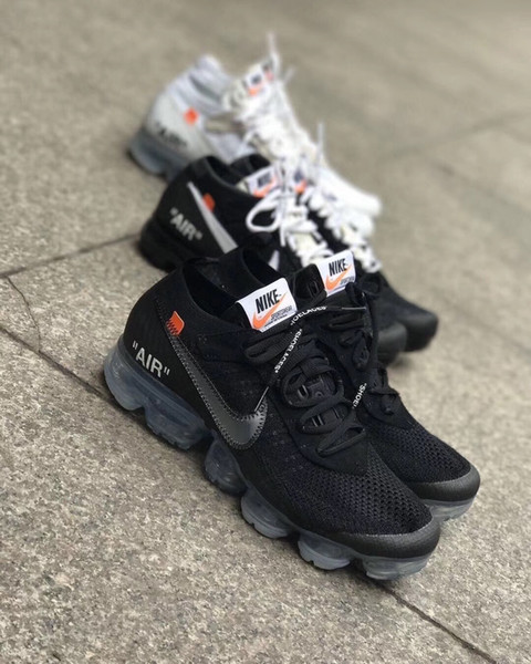 2018 Best Quality Max 2.0 Men Women Running Shoes air Cushion Black White Sports Designer off Mens Womens Trainers Sneakersvapormax wieh box