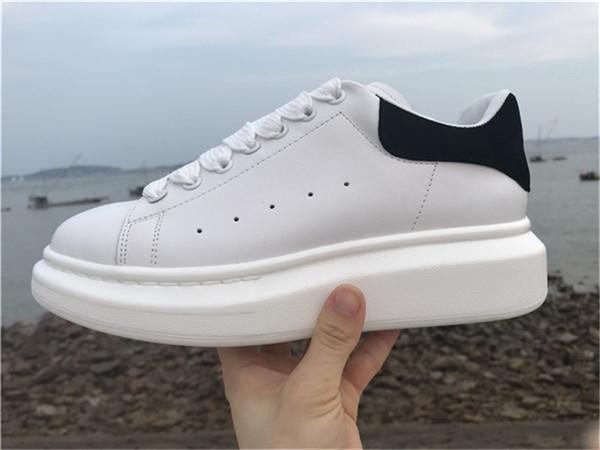 Barato diseñador de lujo de los hombres zapatos casuales barato mejor de alta calidad para hombre para mujer de moda zapatillas de deporte zapatos de plataforma del partido terciopelo Chaussures zapatillas de deporte
