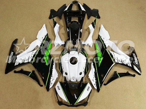 4Gifts New High quality Injection ABS Motorcycle Fairing Kit For YAMAHA R3 R25 2015 2016 15 16 plastic Fairings Bodywork black green white