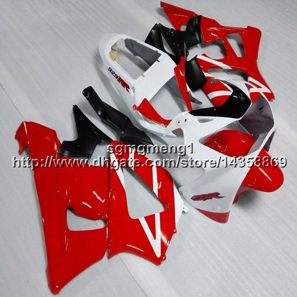 23 colores + Tornillos Moldeo por inyección capucha de motocicleta blanca roja para HONDA CBR929RR 2000-2001 CBR 929 RR 00 01 paneles del motor ABS casco de la motocicleta