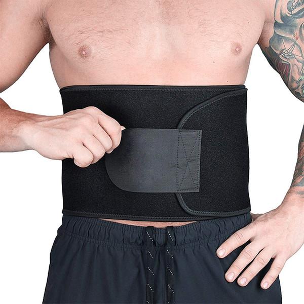 Cinturón portátil de soporte de la cintura para el alivio de dolor en la parte inferior de la espalda Soporte para la espalda para protección lumbar 3 tamaños 2 colores opcional