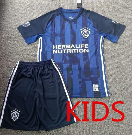 Дети 2019 MLS LA Galaxy Футбол Джерси KIDS Kit 19 20 Лос-Анджелес Гэлакси ИБРАХИМОВИЧ ДЖОВАНИ ДОС САНТОС КАМАРА Футбол J