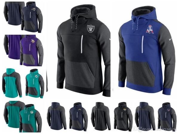 2018 suéter para hombre Houston Texans Indianapolis Colts Jacksonville  Jaguars Chargers Rams Miami Dolphins AV15 histórico 26fb1360a59