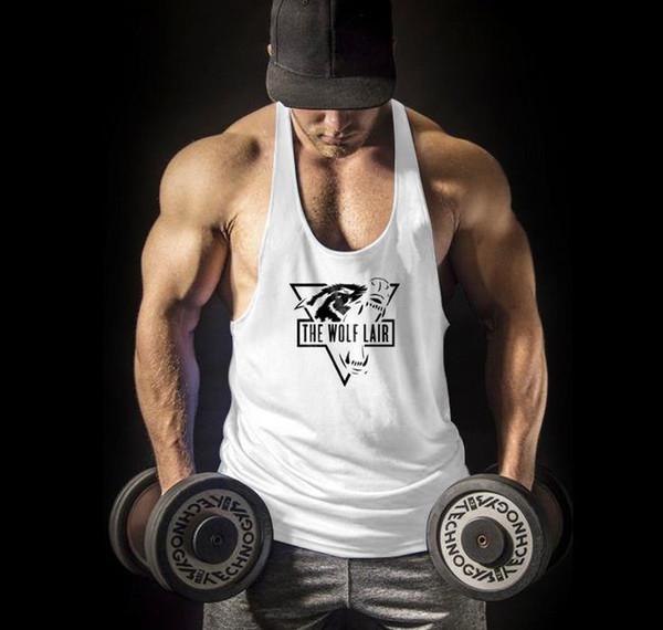Training 2 Go SuperSaiyan Bodybuilding Gym Racerback T Shirt Stringer Vest