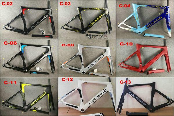 Colnago CONCEPT cadre 12 COLOURS cadre en carbone vélo de route Cadre en carbone vélo cadre de couleur noir