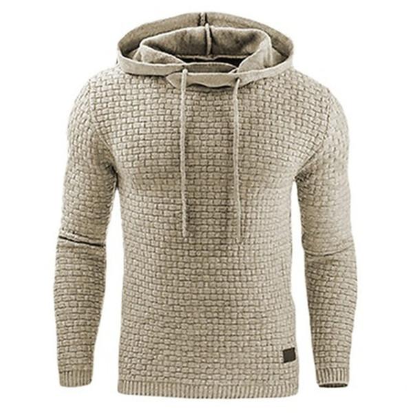 Hoodies Men 2018  Male Long Sleeve Solid Color Hooded Sweatshirt Mens Hoodie Tracksuit Sweat Coat Casual Sportswear 4XL