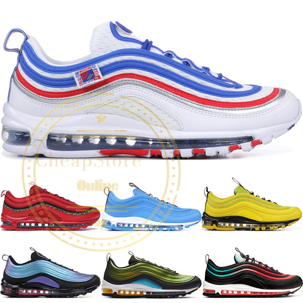 best selling Game Royal Mens Running Shoes Blue Hero Have a Day Leopard Pack Red Triple White Black Metallic Gold Women Athletic Sports Sneakers 36-45