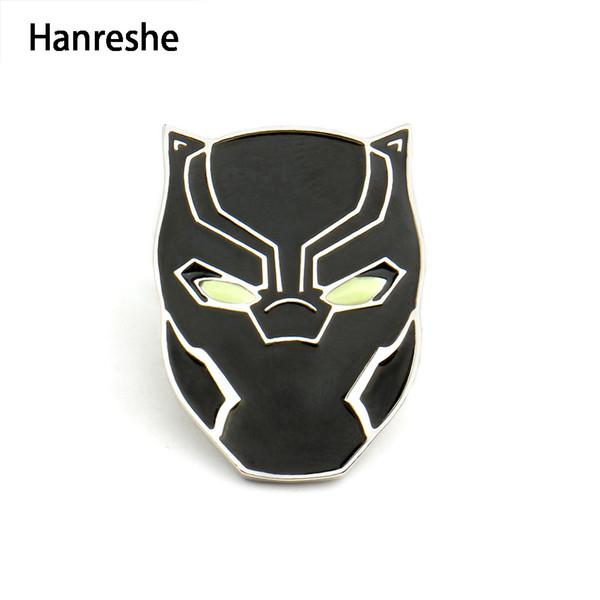 um 50 Prozent reduziert neue Stile Qualität Großhandel Black Panther Maske Pins Wakanda König Emaille Brosche 3 Thanos  Pin Männer CosplayTrendy Schmuck Geschenk Frauen Zubehör Von Fashluck, ...