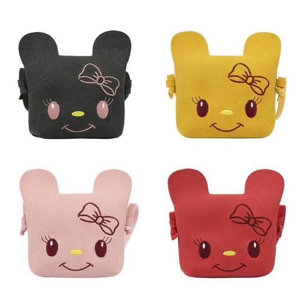 Cute Girls Cartoon Coin Purse Kids Crossbody Shoulder Bag Messenger Bags