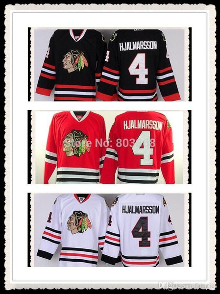 buy popular 65f17 21df9 2019 2016 Wholesale #4 Niklas Hjalmarsson Jersey,Chicago Blackhawks  Red/Black/White Jerseys,Numbers And Name Are Sewn On From Espn_sport,  $25.99 | ...