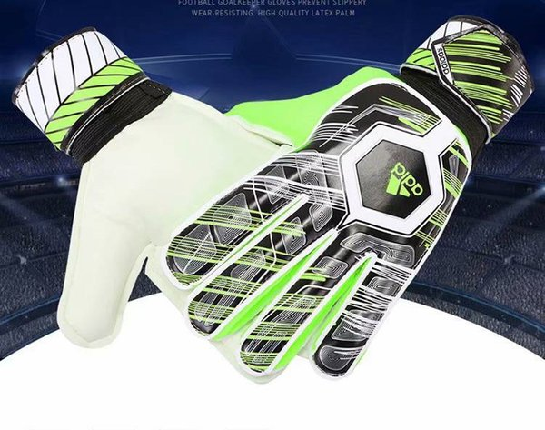 2019 Newest AD Logo Goalkeeper Gloves without fingersave Top Latex Soccer Football Gloves-latex Plam Goal Keeper Gloves Bola De Futebol